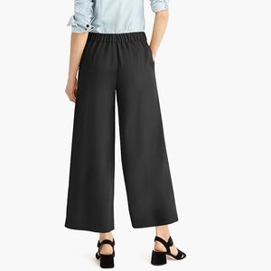 J. Crew Pants - J. Crew Wide-leg crop pant in 365 crepe, 00